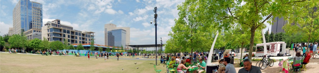 Klyde Warren Park Establishes Urban Connectivity in Dallas