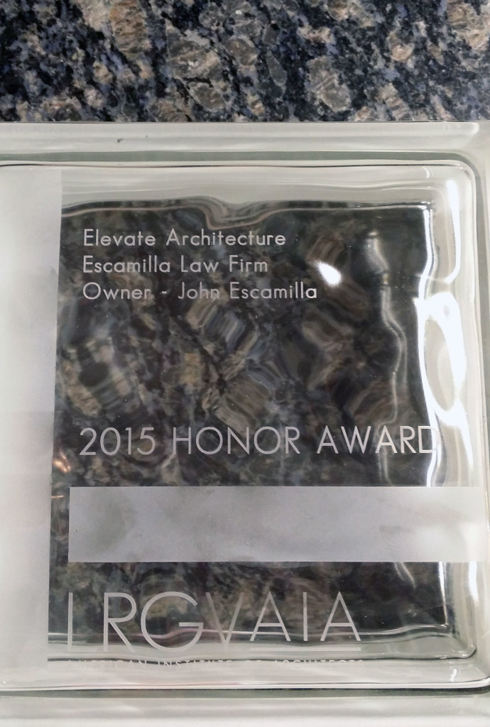 Elevate Architecture Wins Highest Design Award Given by LRGV AIA